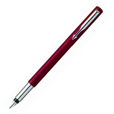 Parker Vector Red Fountain Pen - Great Gift (S0159960)