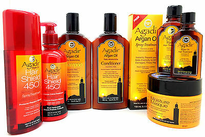Agadir Argan Oil Sulfate Free Shampoo,Conditioner, Mask,Oil,Spray Oil Hair Care