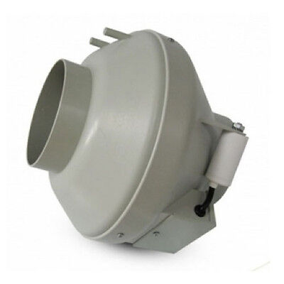 Extracteur d'air Tubulaire RVK Systemair Sileo 125E2-L 341 m³/h (125mm)