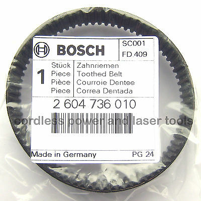 Bosch Toothed Drive Belt for PBS 75 A AE GBS 75 A AE Sander Part 2 604 736 010