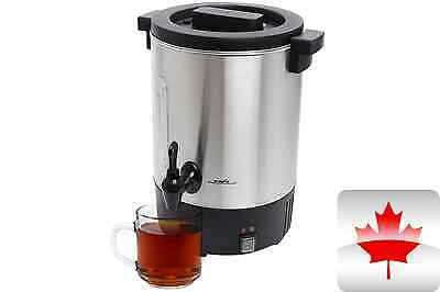 New Stainless Steel 50 Cup 950 W Commercial Water Boiler Urn B