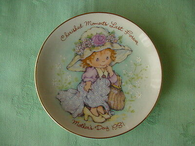 Mothers Day Plate  Cherished Moments