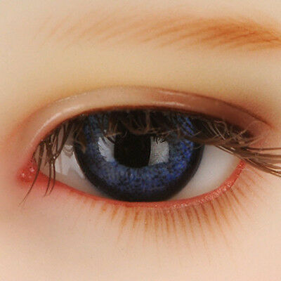 Dollmore Eyes  Paperweight 12mm Classic Flat Back Oval Glass Eyes (CC02)