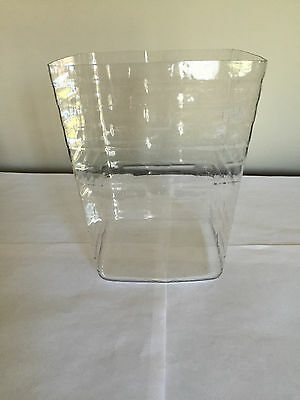 PLASTIC  PROTECTOR for Longaberger Small Square Canister Basket NEW