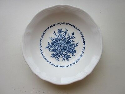 "Mayhill Ironstone Cereal bowl blue & White 6 1/2"" x 1 1/2"""