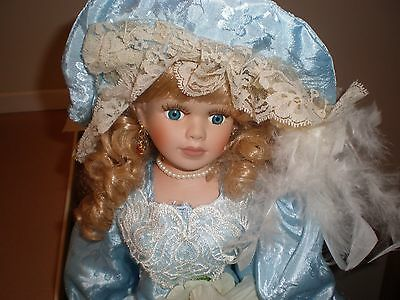 """CHANTELL Collections Limited Edition Porcelain """"DORIS"""" doll"""