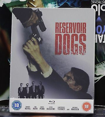Brand New Reservoir Dogs Blu-Ray Steelbook! Uk Version! Region B! Sealed!