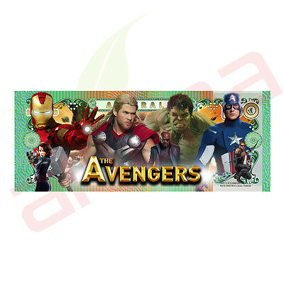 The Avengers - Australian 100 Dollar Novelty Money