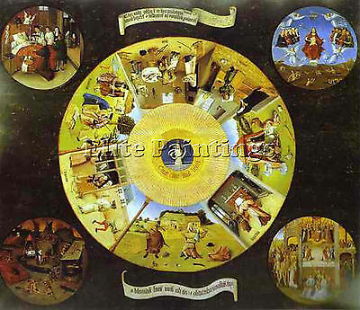 Hieronymus Bosch 16 Artist Painting Reproduction Handmade Oil Canvas Repro Deco