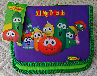 RARE! New w/ Tags VEGGIE TALES PHOTO ALBUM 4X6 Pictures Bob Larry VBS Gift #BE