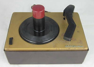 RCA VICTOR 45-J-2 RECORD PLAYER For Parts
