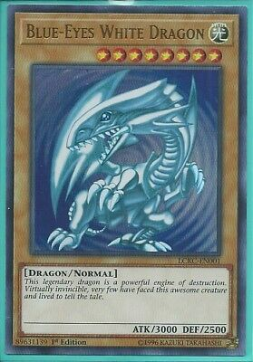 Yugioh Card - Blue-Eyes White Dragon *Ultra Rare* CT13-EN008 (NM/M)