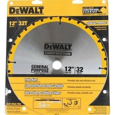 DeWALT Construction 305mm 32 Teeth Circular Saw Blade DW3123