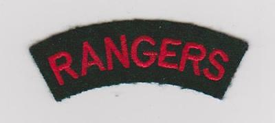 WW1 12th (County of London Bn) The Rangers shoulder tilte
