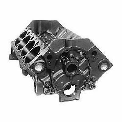 Gm Performance 350 Chevrolet Bare Block Early Cast Iron 4 Bolt Gm10066034