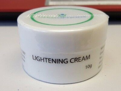 Lightening Cream Fades Dark Pigmentation Liver Spots Freckles Dark Acne Scar 10g