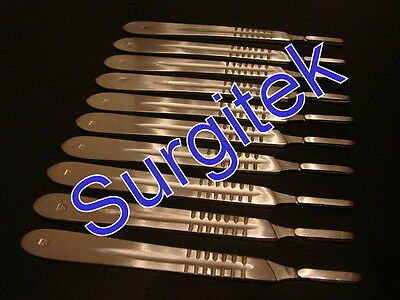 NEW SURGICAL SCALPEL / SCALPLE HANDLE SIZE 4 - SIGN MAKERS CRAFTS x 5 PIECES