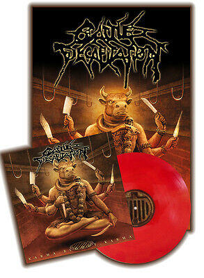 CATTLE DECAPITATION Karma Bloody Karma CURRIED SANGUINE Vinyl [Ltd: 300] +Poster