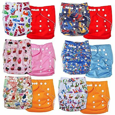 CLOSEOUT DEAL Baby Infant Cloth Diaper One Size Reusable Nappy Covers Inserts