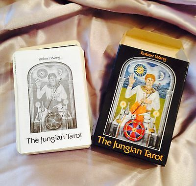 Rare 1988 The Jungian Tarot Complete 78-Card Deck By Robert Wang