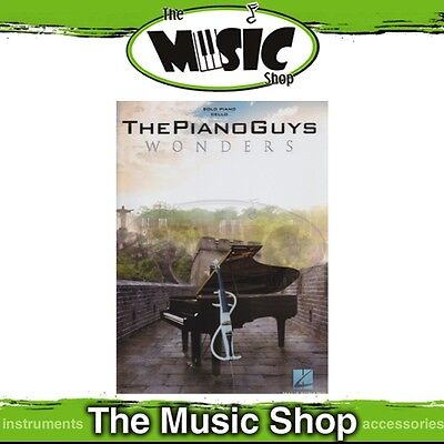 New The Piano Guys 'Wonders' Music Book for Piano Solo with Optional Cello