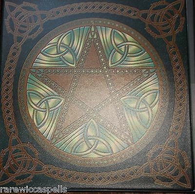 MUST SEE!*Real Witchcraft Wicca Book of Shadows Grimoire 500+ pgs Spells Rituals