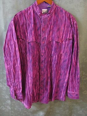 90's Roper Western Shirt Size XL Button Down Yokes Made in USA