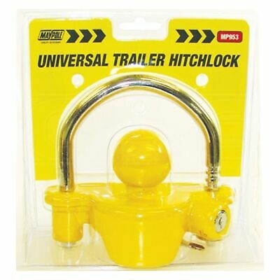 Maypole 953 Universal Trailer Hitchlock - Secure Caravan / Trailer Hitch
