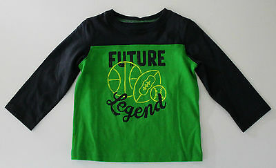 Jumping Beans, 18 Month Green Future Legend Shirt, New without Tags