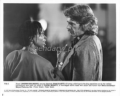 1987 Fatal Beauty Movie Press Photo  Whoopi Goldbert Sam Elliot