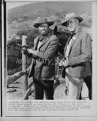1982 Firecreek Movie Press Photo