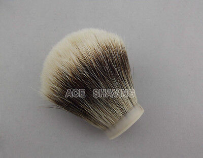 High Quality Knot Size 30mm Finest Badger Hair Shaving Brush Knot Free Shipping