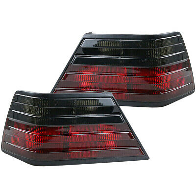 Replacement Red Smoke Rear Tail Light Lamp Lens For Mercedes-Benz W124 1985-95