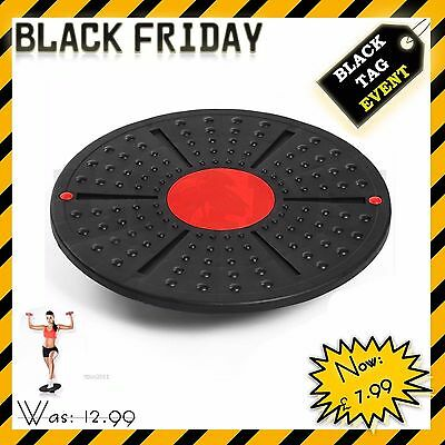 Fitness Balance Board Exercise Training Workout Wobble Rehabilitation Disc