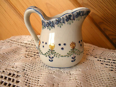 DAINTY MINI PITCHER MADE IN PORTUGAL  HAND PAINTED  Pretty Floral design