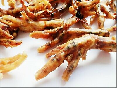 <800g >Dried Chicken Feet - treats chews Best Quality 100% NATURAL
