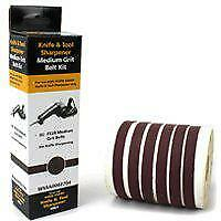 Drill Doctor WSSA0002704C Replacement Abrasive Belt Kit, 6 Pieces