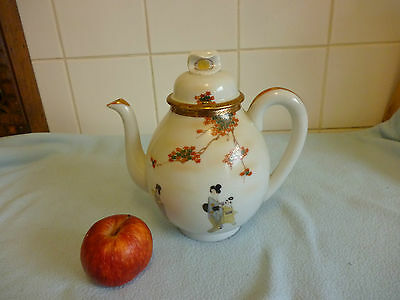 Chinese Porcelain Hand Painted Teapot