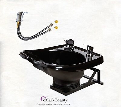 Shampoo Bowl Sink with a Tilt Mechanism Salon Spa Equipment TLC-B13-WT