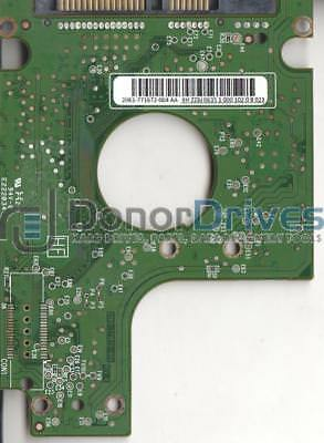 WD3200BEVT-26A23T0, 2061-771672-004 AA, WD SATA 2.5 PCB + Service