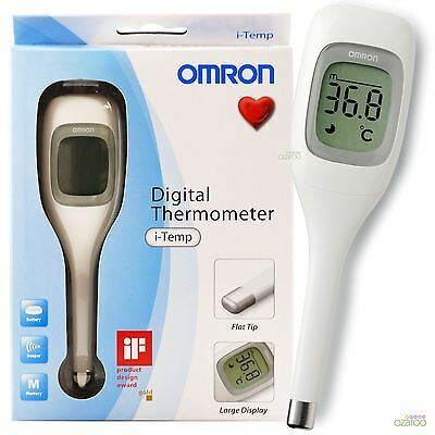 Omron i-Temp Digital Children Adult Automatic Oral Axillary Memory Thermometer