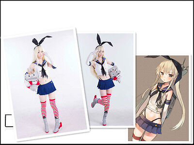 Kantai Collection KanColle Japanese Destroyer Shimakaze Cosplay Costume