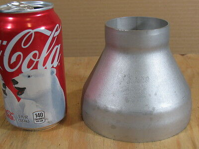 """2"""" - 4"""" Stainless Steel Concentric Reducer Pipe Fitting (PICOR) Bell End Type"""