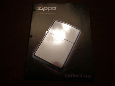Full Size Zippo Lighter Catalog 2008 Unused
