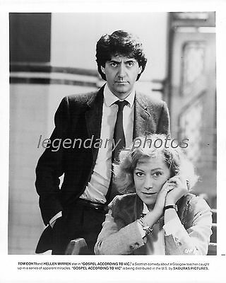 1987 Gospel According To Vic Movie Press Photo