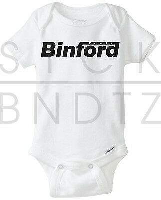Binford Tools Home Improvement Baby T-Shirt Funny Cute Shower Gerber Onesie