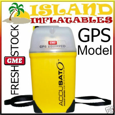 GME PLB  MT410G - 406 MHz Personal Locating Beacon GPS Tracking EPIRB Safety NEW
