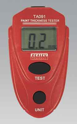 Sealey Paint Thickness Tester  Testing Tool Accurate & Consistent