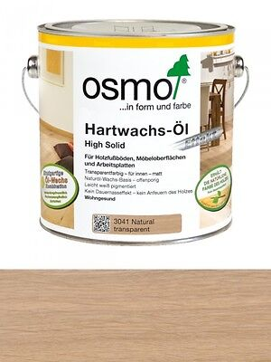 Osmo Hartwachsöl natural 3041 0,75L High Solid seidenmatt
