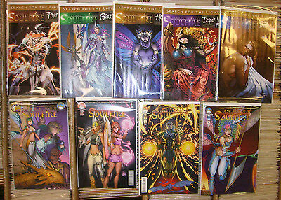 Michael Turner's All-New Soulfire #1-5 Soulfire Search For The Light 5 One-Shots